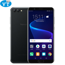 "Global Rom Huawei Honor V10 4G 64G New AI Smartphone Kirin 970 Octa Core 5.99"" 1080x2160P Dual Rear Camera Fingerprint ID NFC(China)"