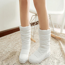 Women's boots Winter warm snow boots Goose Down Lined Boots