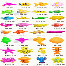 32pcs Magnetic Fishing Toy Game Kids 3D Fish Baby Bath Toys Outdoor Fun(China)