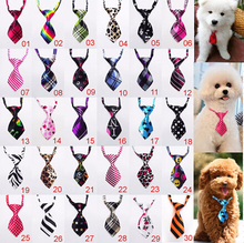 100pc/lot Factory Big Sale Dog Ties Pet Bow Ties Cat Neckties Dog Grooming Supplies can choose different color P10(China)