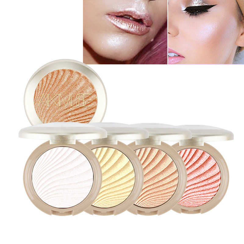 Supply New Makeup Oil Control Brightening Palette Bronze Highlighter Press Powder Liquid Foundation Correction Outline Baking Powder Beauty & Health