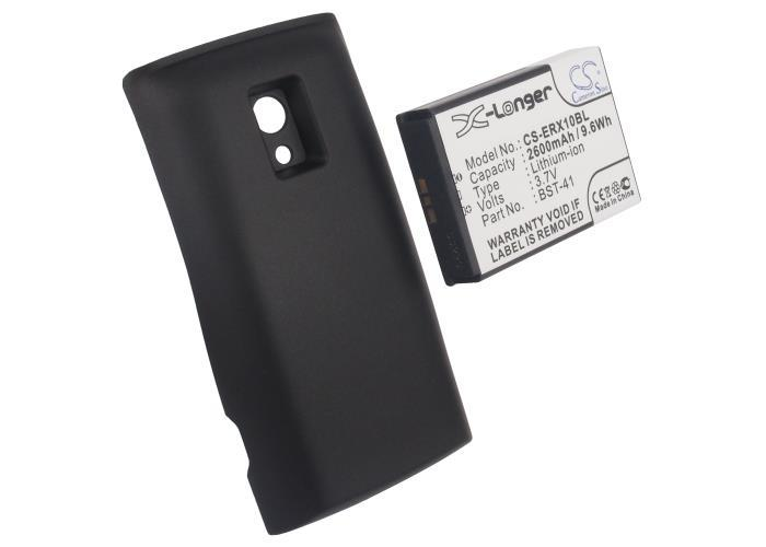 Battery For SONY ERICSSON For Xperia X10, X10a (p/n BST-41) With Back Cover(China (Mainland))
