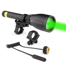 The Ultimate Night Vision Solution Flashlight Laser Genetics ND3 x 50 Long Distance Green Laser Designator With Mount