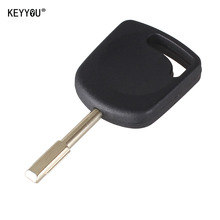 KEYYOU Transponder Uncut Blank Blade Key Shell For Ford Focus Mondeo KA Jaguar XJ8 Transit Connect Uncut No Chip Free shipping