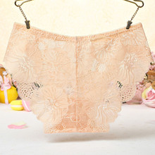 Buy Women Thong Sexy Panties Thong Lace Word Pants Ladies Briefs Underwear fancy Traceless Lace Breathable Female g string 2018 F35