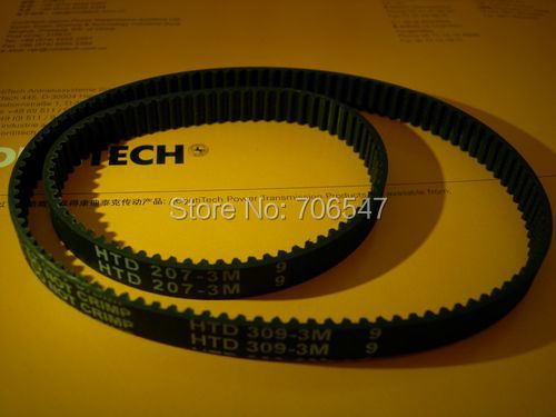 Free STS 420-S3M-9 teeth 140 width 9mm length 420mm STS3M 420 S3M 9 Arc teeth Industrial Rubber timing belt 10pcs/lot