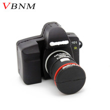 VBNM hot SLR camera USB flash drive Camera pendrive cartoon usb stick mini pen drive 4GB 8GB 16GB memory stick free shipping(China)