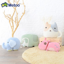 Metoo Doll New Product Cookies Flat Pillow Doll Sweet Plush Animal Cartoon Stuffed Toys Boneca Kids Toys Sweet Sofa Decoration