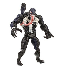 "Free Shipping Marvel Universe wiicked venom Spiderman PVC Action Figures Loose Toy 6"" 18CM(China)"