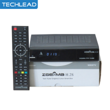 Zgemma Star H.2S Satellite tv receiver Two DVB-S2 Tuner built-in enigma 2 linux OS Zgemma-star H.2S Full HD set top box tv box(China)