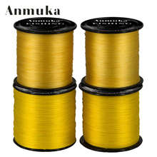 Anmuka Spectra 500M Super Strong Japan Multifilament PE Braided Fishing Line 20 30 40 50 60LB Tippet Main Line Fishing Tackle(China)