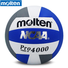 original Molten PRO4000 Men's women's volleyball Size 5 Series PU Material Official Molten Brand Professional volleyball ball