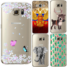 Butterfly Silicon Coque For Samsung Galaxy J3 J5 A3 A5 2016 S3 S5 S6 S7 Edge Grand Prime Case For iPhone 5 5S SE 5C 6 6S 7 Plus