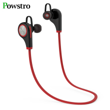 POWSTRO Q9 Wireless Sports Bluetooth Headset Hands free Stereo Bluetooth Earphone Fashion With Microphone For Mobile Phone