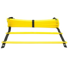 Crossfit Soccer Training Agility Ladder 5M 9 rung 16.5 Feet Speed Training Adjustable Football Fitness Equipment with Carry Bag