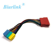 Radio Adapter Mini ISO Plug Extension CD Harness Cable for AUDI A2 A3 audi A4 A6 TT(China)