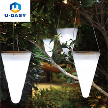 U-EASY 3 pcs/Set LED Solar Hanging Light Outdoor Garden Lamps Solar Powered Hanging Tree LED Night Lights
