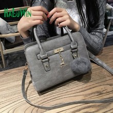 HALUWIN fashion women lady bag top hanle bags party style hot sale quality pu leather shoulder solid bags crossbody whitecollar