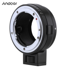 Andoer NF-NEX Lens Mount Adapter with Aperture Dial for Nikon G/DX/F/AI/S/D Type Lens to use for Sony E-Mount NEX Camera