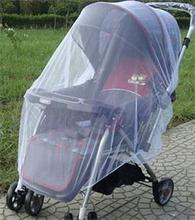 High Quality Safe Mesh Buggy Crib Netting Cart Mosquito Net White Infants Baby Stroller Pushchair Mosquito Insect Net
