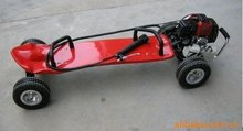 Gas skateboard petrol motor scooter 49cc motorized skateboard red color Brand New Australia,New Zealand EMS Free Shipping!(China)