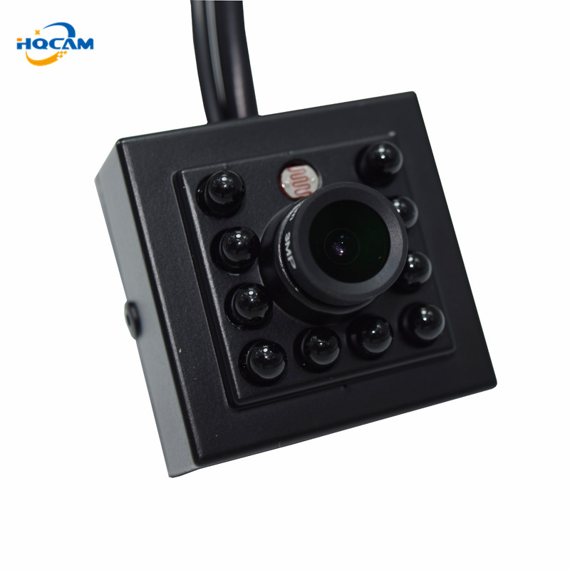 HQCAM 1080P Mini AHD Camera 2000TVL Night Vision camera 10Pcs 940nm Invisable IR Leds Security Indoor Mini Camera Ahd IR Camera