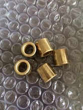 10 pieces 8*12*12mm FU-1 Powder Metallurgy oil bushing porous bearing Sintered copper sleeve 081212(China)