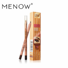 Menow Brand Make up High Quality Cosmetic American Wood Eyebrow Pencil Lasting Waterproof Wholesale drop shipping P14009 ~(China)
