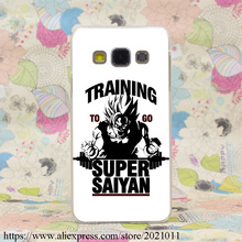 1936X Training to go Super Saiyan Dragon ball Z Hard Case Cover for Samsung A3 A5 7 8 J5 7 & Note 7 5 4 3 2 & Grand 2 & Prime