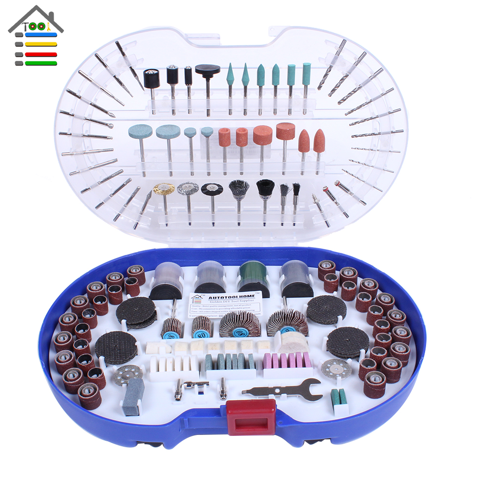 276PCS Rotary Tool Accessories Kit Set Dremel Attachment Electric Grinder Wood Metal Engraving Cutter Grinding Sanding Polishing<br><br>Aliexpress