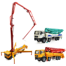 Alloy model car truck concrete pump truck adult metal ornaments 1:55 Children's Day Christmas New Year gift collection