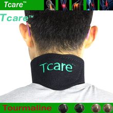 Tourmaline Neck Belt Self-heating Brace Magnetic Therapy Wrap Protect Belt Support Spontaneous Heating Neck braces Health Care(China)
