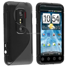 For HTC EVO 3D G17 S-Line TPU Soft Silicone Shockproof Mobile Phone Case Cover