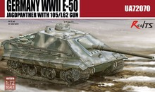 RealTS Modelcollect UA72070, Germany WWII E-50 STUG with 105/L62 gun