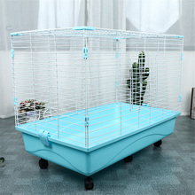Oversized Collapsible Wire Pet  Spray Paint Quality Insurance  Pet Dog Cage Door Design Large pet cage Pet dog rabbit