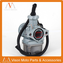 Hand Choke PZ22 22mm Carb Carburetor For 110cc 125cc Motorcycle Pit Dirt bike ATV Quad Motocross monkey bike KAYO Bosuer(China)