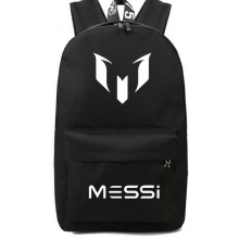 Boy School Bag for Teenager Messi Backpack Teen Black Footbal Bag Men Back Pack Travel Gift Mochila Bolsas Kids Bagpack(China)