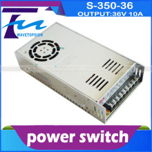 power switch S-350-36 DC OUTPUT:36V 10A 50/60HZ  use for laser engraving and cutting machine control card