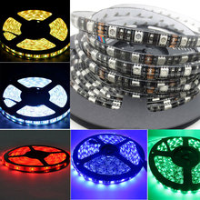 Fashion Home Decoration 5m LED Strip Light 5050 SMD Waterproof 12V 60W Lights Line For Bars Party Courtyard Advertising CLH(China)