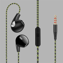 YTOM YT06 Earphone Sport earbud for iphone apple 6 5 xiaomi sony Bass Earphone Stereo earpiece with mic earpods for MP3 phone(China)