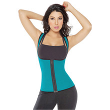 HOT 4COLORS slimming redu thermo cami hot slim belt Neoprene shaper Vest Sweat Both Side Wearable(China)