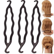 Hot Brand 1PC French Hair Braid Tool Magic Twist Styling Bun Maker Holder Clip Hair Twist Roller Hook Braid Tool Cheap Price(China)