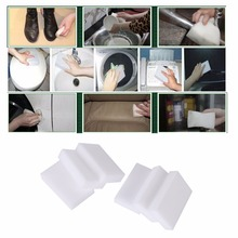 6pcs Auto Car Wash Sponge Car Care10x6x2cm Stain Remover Car Cleaning Wash Pad Cleaner Eraser Kitchen Washable Car Cleaning Tool
