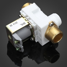 DC 12V Solenoid Valve For Solar Water Heater 0.02-0.8MPa Normally Closed Household Water Heater Parts