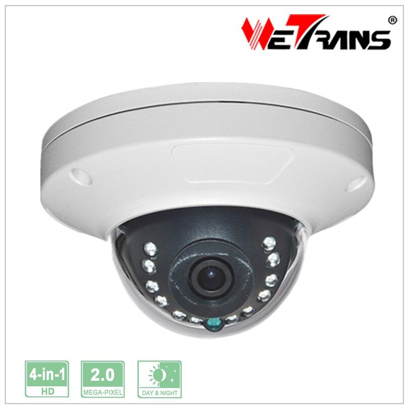 Metal Vandalproof  Small Dome Camera Support HD CVI/AHD/TVI/CVBS 4 in 1 UTC Control CCTV Dome Cameras With IR cut<br><br>Aliexpress