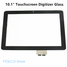 LCDOLED 10.1'' Touch Screen Digitizer Glass Panel Repair Laptop Screen For Acer Iconia Tab A210 A211(China)