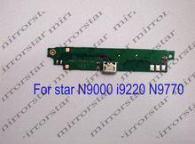 Free shipping New original usb plug charge board for STAR MTK6577 I9220 N9000  N9770 cell phone Batterie Batterij Bateria