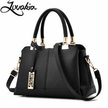 LOVAKIA women bag pu leather tote brand name bag ladies handbag lady evening bags solid female messenger bags travel fashion sac(China)