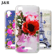 "Fashion Painting Cover for Fly Fs454 (2 Sim) case for Fly Nimbus 8 FS454 FS 454 4.5"" Phone Bag&Silicone Back Cover"