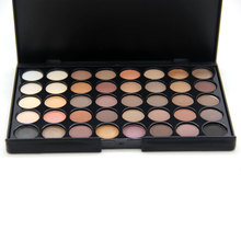 40 Colors Matte Eyeshadow Smoky Mixed Baking Powder Eye Shadow Palette Nude Glitter Cosmetic Set